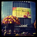 Photo taken at 코엑스 (COEX) by Phil K. on 10/21/2011