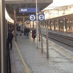 Photo taken at Stazione Asti by Alice V. on 12/26/2011