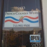 Photo taken at French Country Wines by Genevieve G. on 9/5/2012