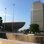 Photo taken at Empire State Plaza by Lucas C. on 7/17/2012