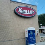 Photo taken at Kum & Go by Luis C. on 6/17/2012