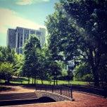 Photo taken at Big Spring Park by Adam C. on 4/3/2012