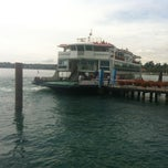 Photo taken at Gardone Riviera ferry port by Fabrizio on 9/2/2012