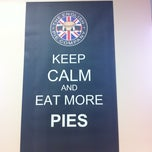 Photo taken at The English Pork Pie Company by Alli S. on 3/24/2012