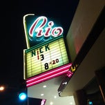 Photo taken at Rio Theatre by draykh x. on 8/21/2011