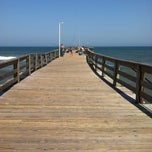 Photo taken at Avon Fishing Pier by Scott M. on 7/27/2012