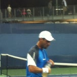 Photo taken at Court 12 - USTA Billie Jean King National Tennis Center by Sandy B. on 8/28/2012