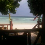 Photo taken at Lipe resort by Suleeporn A. on 6/2/2011