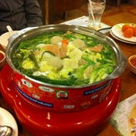 Photo taken at Hot Pot Buffet TukCom Sriracha by ohm_p P. on 11/2/2011