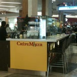 Photo taken at CrepeMaker by Alexis B. on 12/11/2011