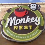 Photo taken at Monkey Nest Coffee by Scoti W. on 7/16/2012