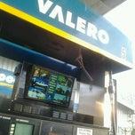 Photo taken at Valero by Sheri J. on 4/15/2012