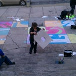 Photo taken at Arts and Humanites Building steps by Nicolle R. on 2/2/2012
