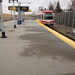 Photo taken at Canyon Meadows (C-Train) by Emily N. on 3/27/2012