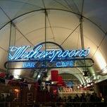 Photo taken at Wetherspoons by OrganicManDigitalWorld on 10/28/2011