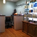 Photo taken at Stonewater Salon & Spa by Terry L. on 11/16/2011