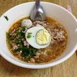 Photo taken at Baan Chieng Saen // บ้านเชียงแสน by Kosit S. on 2/19/2012