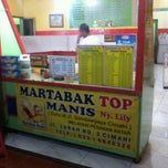 Photo taken at Martabak TOP Ny. Lily by agis andi fafa on 5/19/2012
