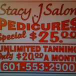 Photo taken at Stacy j salon by Lindsey W. on 8/19/2011
