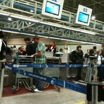 Photo taken at TAM Check-in by Diego on 9/6/2012