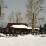 Photo taken at Lynn Britt Cabin by Lindsy F. on 2/10/2012