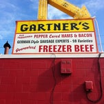 Photo taken at Gartner's Country Meat Market by Deanna C. on 7/31/2012