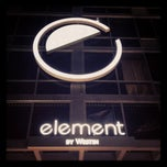 Photo taken at Element Miami International Airport by Omar G. on 5/5/2012