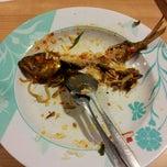 Photo taken at Foodcourt Menara Kuningan by christina o. on 1/6/2012