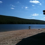 Photo taken at Mauch Chunk Lake Park by Bernadette B. on 8/30/2011