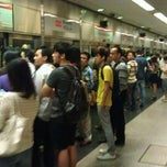 Photo taken at Braddell MRT Station (NS18) by Ekta C. on 1/15/2012