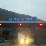 Photo taken at Mass Pike by Donna H. on 11/15/2011