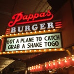 Photo taken at Pappas Burger by Khris R. on 6/8/2012