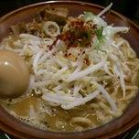 Photo taken at 光麺 恵比寿店 by Fujiwara K. on 8/14/2011