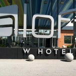 Photo taken at Aloft Rogers-Bentonville by Keela C. on 4/1/2012