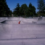 Photo taken at Sunnyvale Skate Park by beno h. on 8/31/2011