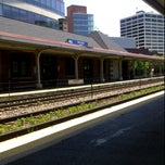 Photo taken at Metra - Evanston (Davis Street) by Katie M. on 7/12/2011