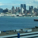 Photo taken at Weehawken Waterfront Park and Recreation Center by Bridget B. on 6/6/2012