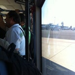 Photo taken at Bus Shuttle Aeroporto Leonardo Da Vinci by Christian M. on 10/1/2011