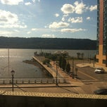 Photo taken at Yonkers Train Station - Metro North & Amtrak by Kurt W. on 8/6/2012