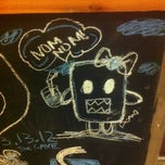 Photo taken at Caribou Coffee by Rebecca S. on 3/24/2012
