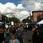 Photo taken at 3rd Ave Feast - Bay Ridge, Brooklyn by Aaron L. on 10/2/2011