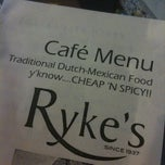 Photo taken at Ryke's by Ginkgo W. on 5/7/2011