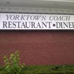 Photo taken at Yorktown Coach Diner by Dominic I. on 8/20/2011