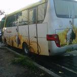 Photo taken at Nusantara Bus Agen by Syarifudien Z. on 5/16/2012
