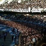 Photo taken at Estadio Juan Domingo Perón (Racing Club) by Fer S. on 7/29/2012
