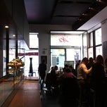 Photo taken at Obikà Mozzarella Bar - Milano Brera by Bud F. on 3/19/2012