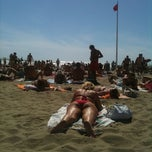 Photo taken at Lido Beach Spiaggia Libera Lido Di Camaiore by Fabiano R. on 8/9/2011