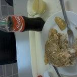 Photo taken at cafeteria de saga megaplaza by Johnny Luis C. on 9/3/2012