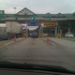 Photo taken at PLUS Highway Kulaijaya Toll by Aman P. on 8/27/2011