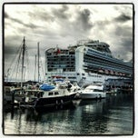 Photo taken at Sapphire Princess by Noreen G. on 5/24/2012